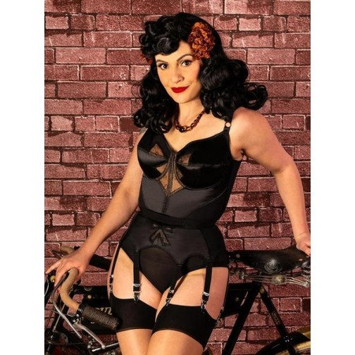 f28f0a9b0 Bow Suspender Belt
